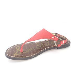 Sam Edelman Shoes - Sam Edelman Greta Havana Red Thong Sandal size 6.5